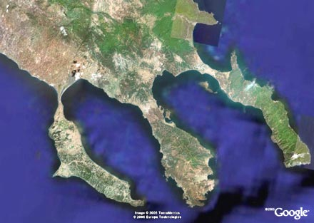 HALKIDIKI GOOGLE EARTH